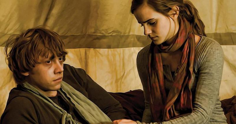 Rupert grint n est vraiment pas optimiste sur le mariage de ron et hermione - Qui est hermione granger ...