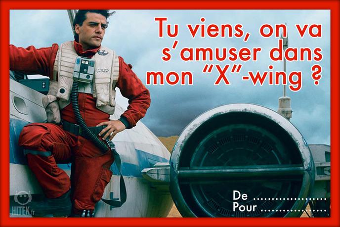 carte saint valentin star wars 7