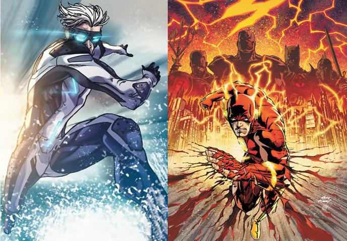 Les h ros marvel et leurs quivalents chez dc comics - Flash le super heros ...