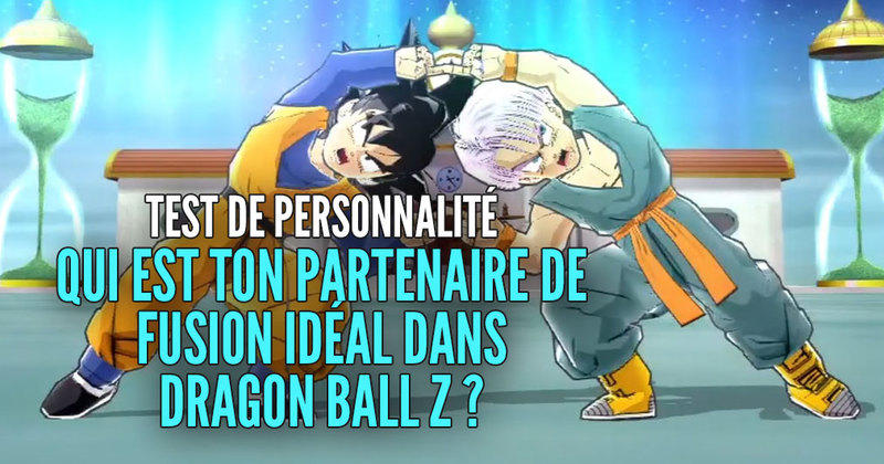 test de personnalit qui est ton partenaire de fusion id al dans dragon ball z. Black Bedroom Furniture Sets. Home Design Ideas