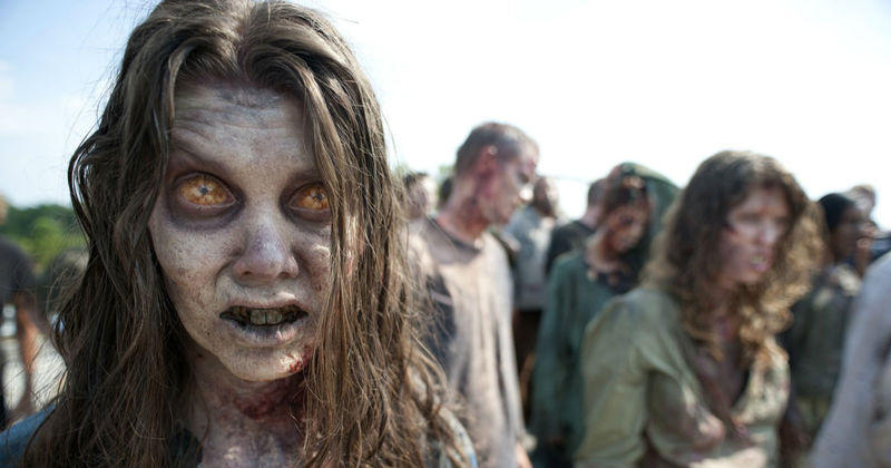 The Walking Dead Voici Les Zombies Les Plus Horribles De La Serie