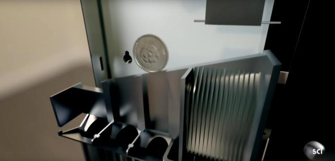 comment les distributeurs automatiques reconnaissent ils les vraies pi ces des fausses. Black Bedroom Furniture Sets. Home Design Ideas