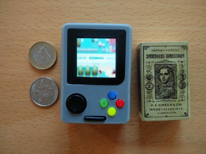 Gameboy Nano La Plus Petite Des Gameboy Est Disponible 224