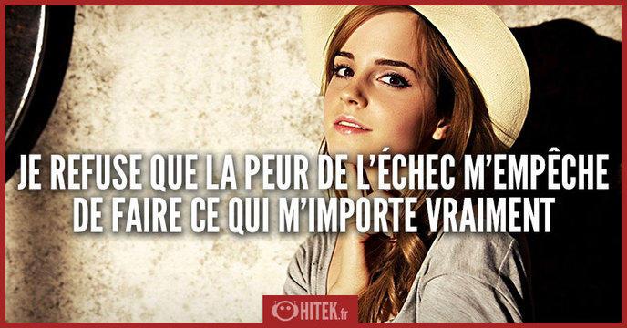 ... Emma Watson ! 10 citations profondes et inspirantes de la jeune femme
