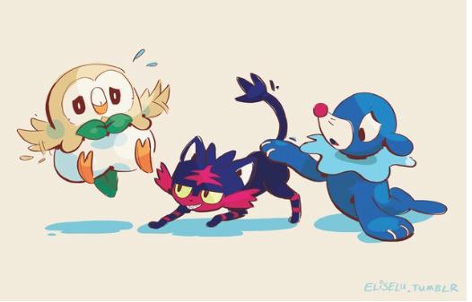 Déjà Des Fan Arts De Pokémon Soleil Et Lune