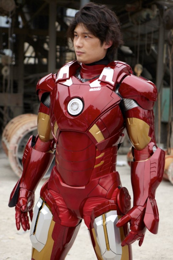 L 39 armure mark vii d 39 iron man bient t en vente for Maison d iron man