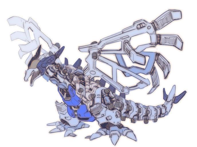 zoid-dessin-pokemon-lugia