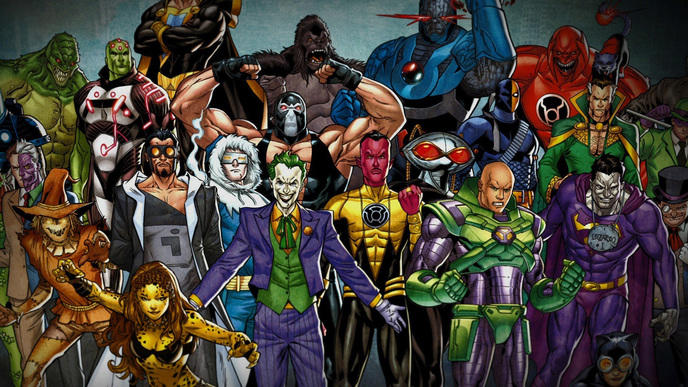 Extraordinaire Top 15 des méchants les plus terribles de DC comics WW-21