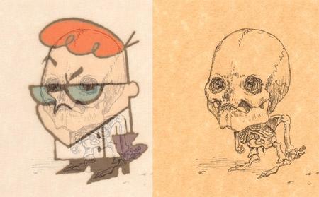 squelettes-personnages-dessins-animes-michael-paulus