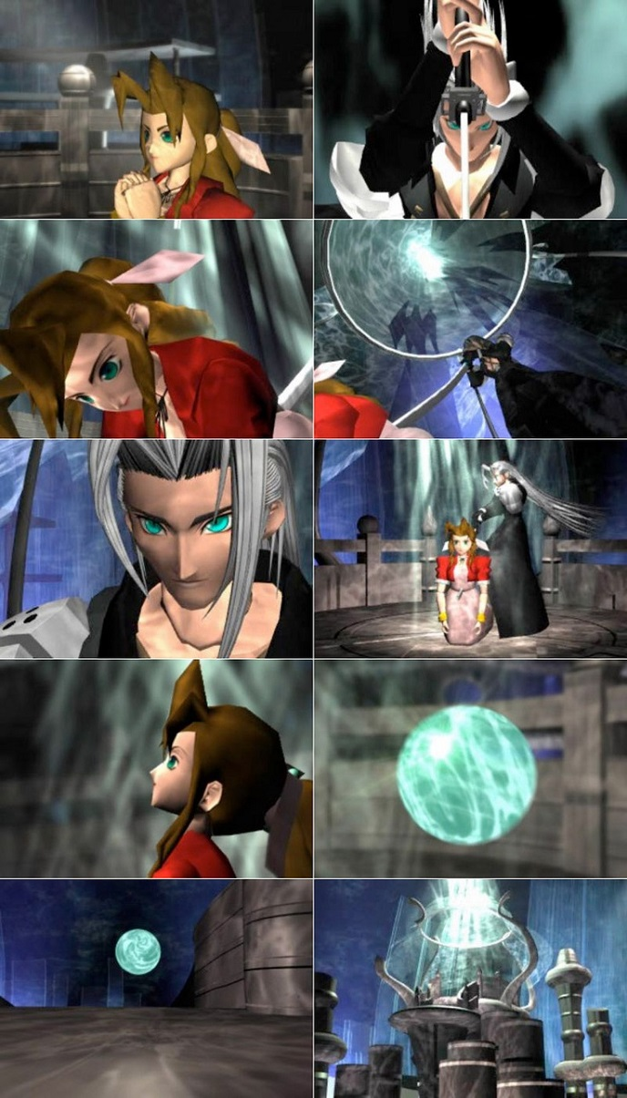 sephiroth securing the kill