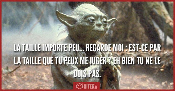 Citation Star Wars Yoda