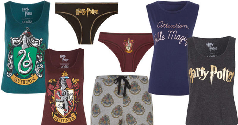 harry potter des culottes pour les sorci res chez undiz. Black Bedroom Furniture Sets. Home Design Ideas