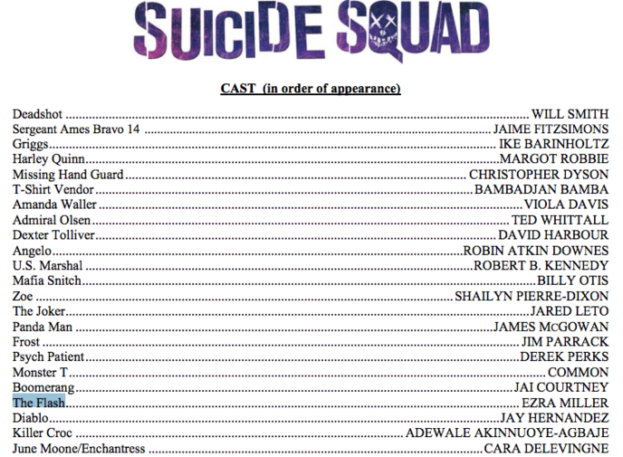 final cast