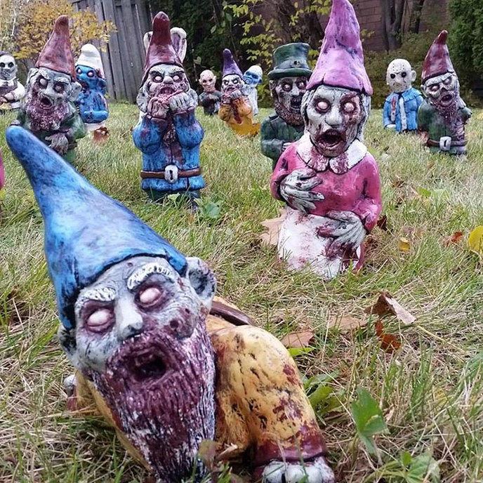 Quand les nains de jardins zombies s 39 invitent dans votre - Quand peut on bruler dans son jardin ...