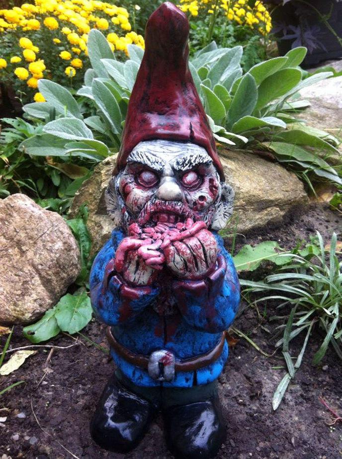 Quand Les Nains De Jardins Zombies S Invitent Dans Votre Jardin