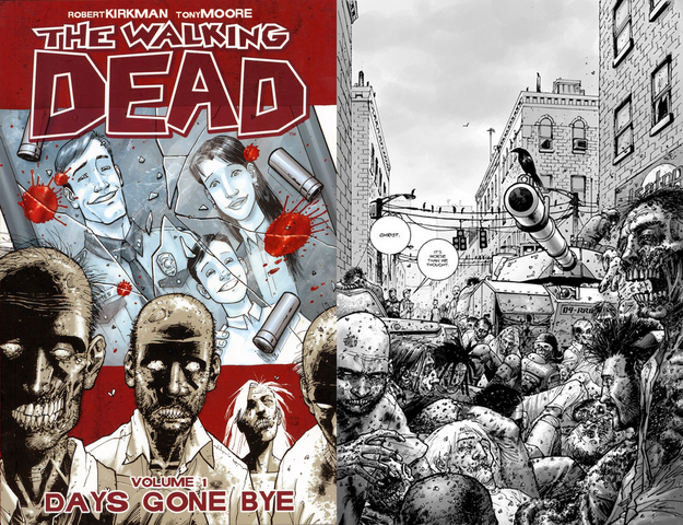 The Walking Dead — Robert Kirkman, Tony Moore, Charlie Adlard