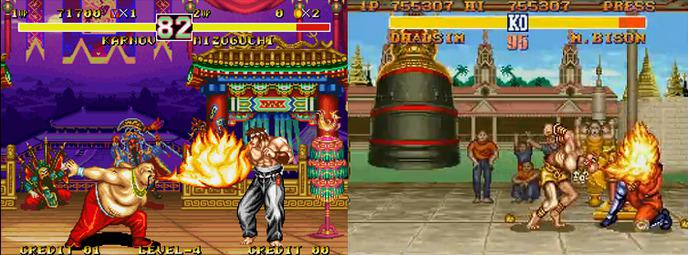 sf2 fighter's history