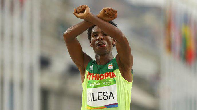 JO marathonien Éthiopie