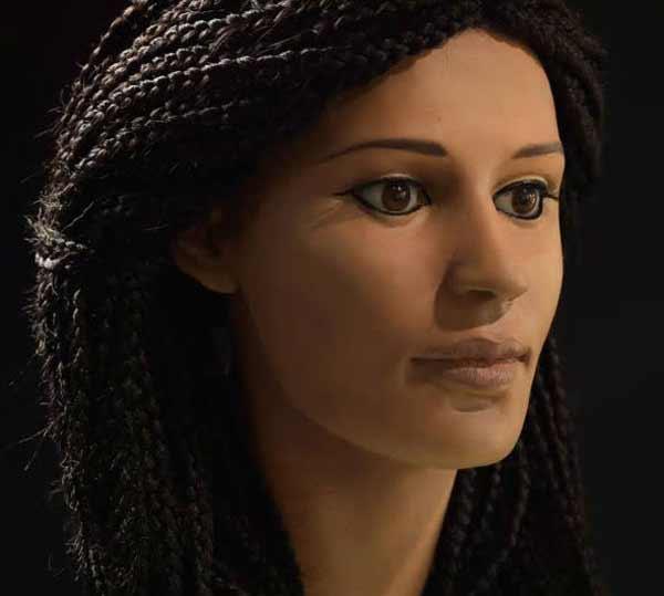 Préférence Des chercheurs ont réussi à reconstituer le visage d'une momie  DU98