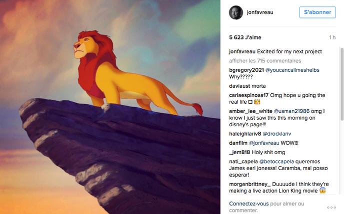 Le Roi Lion en live-action