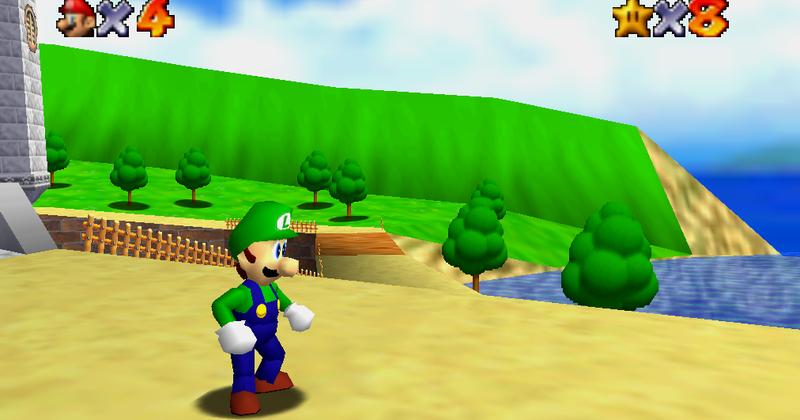 Legende Urbaine Episode 2 Luigi Dans Super Mario 64 Et Une