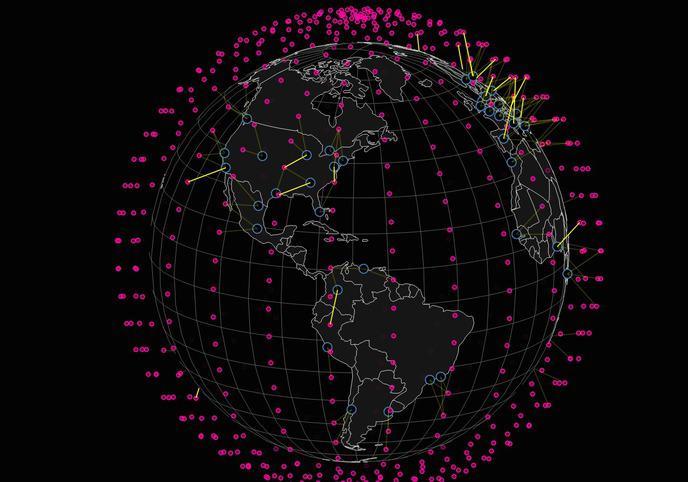 SpaceX veut déployer Internet partout dans le monde via des…