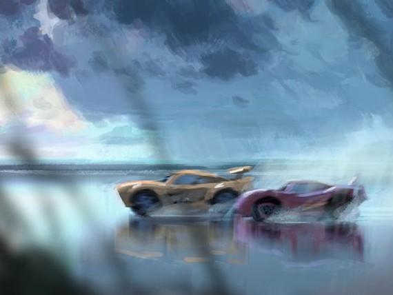 Flash McQueen en danger dans le premier teaser de Cars 3