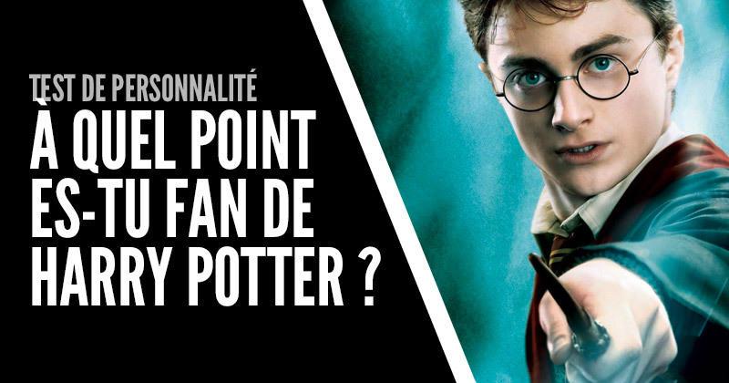 Test De Personnalite A Quel Point Es Tu Fan De Harry Potter
