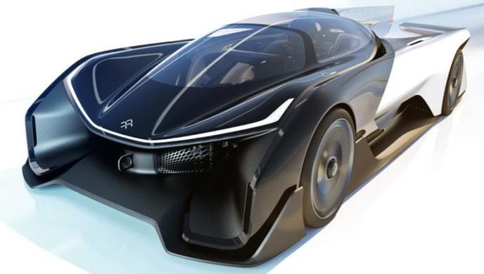 faraday future ff91 la tesla killer la voiture lectrique qui bat tous les records. Black Bedroom Furniture Sets. Home Design Ideas