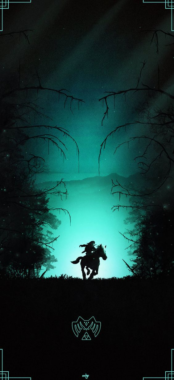 zelda iphone wallpaper