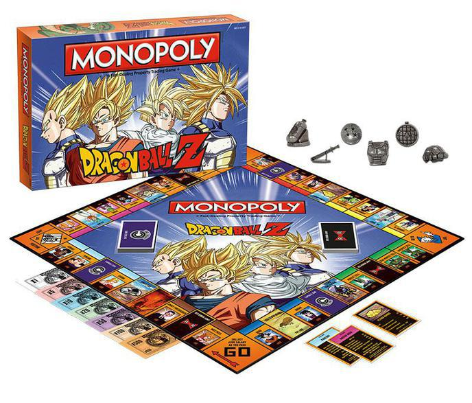 Le Monopoly Dragon Ball Z annoncé officiellement