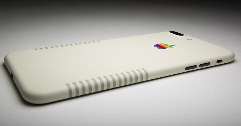 Voici l 39 iphone 7 plus r tro l 39 hommage mobile aux macintoshs for Reduire fenetre mac