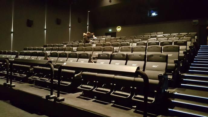 On a test le cin ma en 4dx - Gaumont pathe labege ...