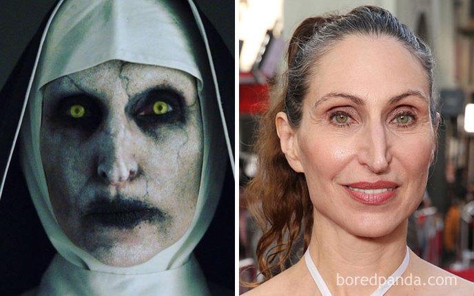 Qui se cache derri re ces effrayants personnages de films d 39 horreur - Personnage film horreur ...