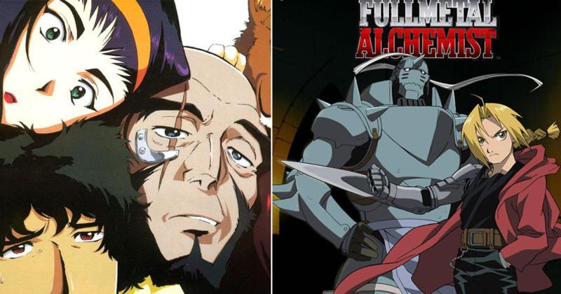 Full Metal Alchemist Brotherhood et Cowboy Bebop de retour ...