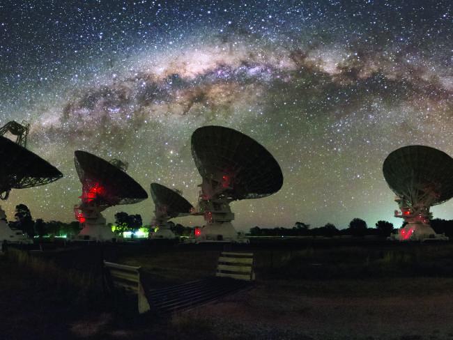 Image de radiotélescopes