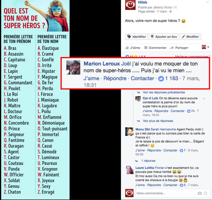 Populaire préféré Nom De HéRos @WA52 – HumaTraffin #ND_78
