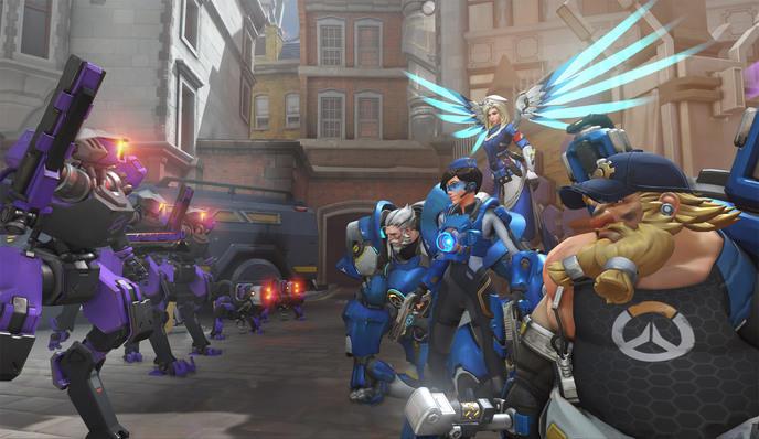 Overwatch combat contre équipe