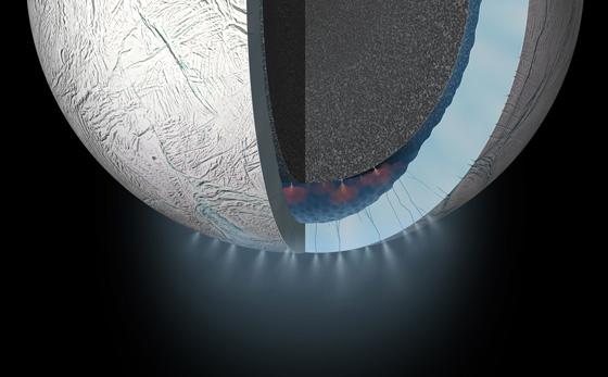 Image intérieur d'Encelade