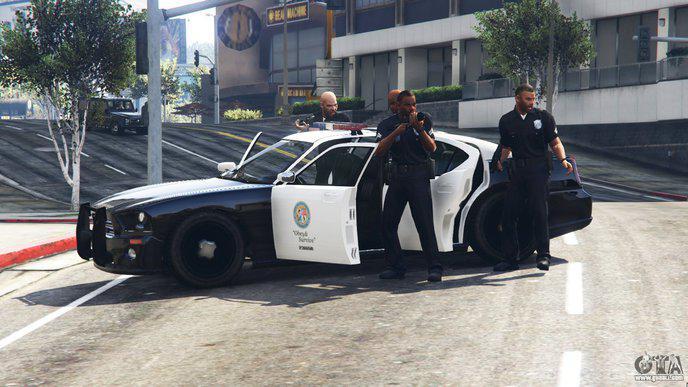 Policiers GTA V