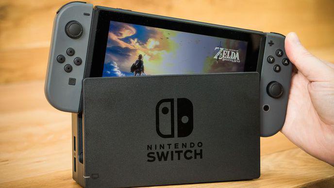 Nintendo Switch Console et Zelda