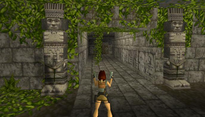 Un niveau du tout premier jeu jouable dans votre navigateur — Tomb Raider