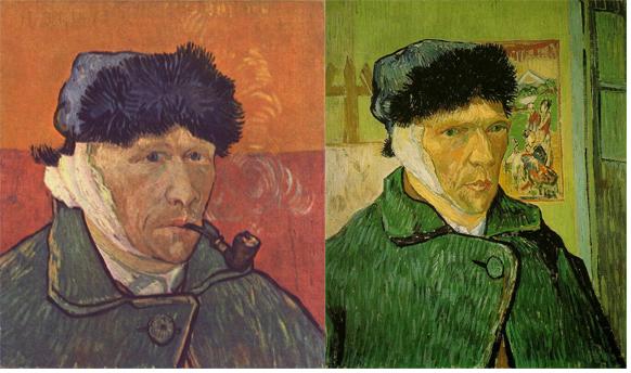 L oreille de van gogh 130 ans d une histoire rebondissement - Autoportrait van gogh oreille coupee ...