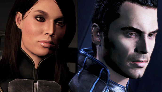 Ashley et Kaidan