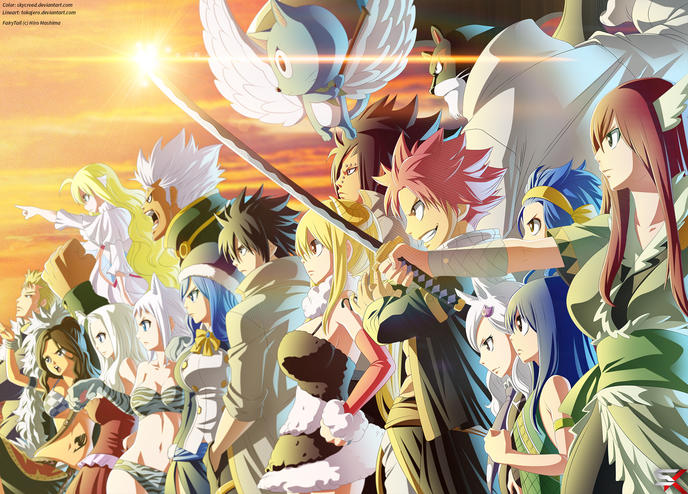 La fin de fairy tail officialis e - Embleme de fairy tail ...