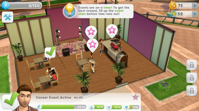 Gameplay Sims Mobile
