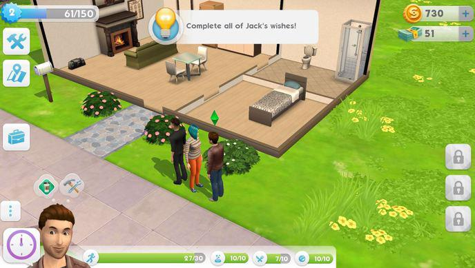 Gameplay Sims Mobile 2