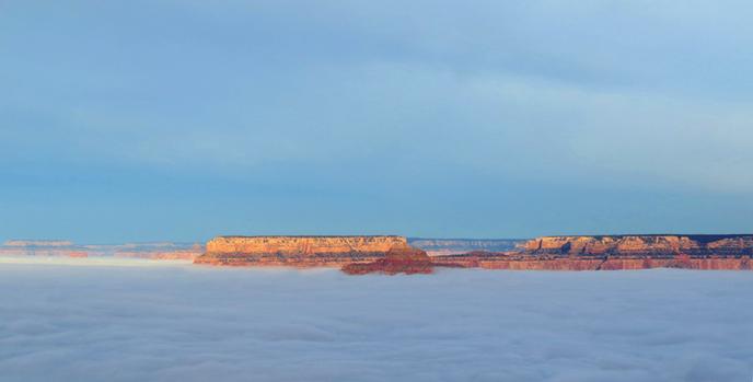 Mer de Nuage Grand Canyon