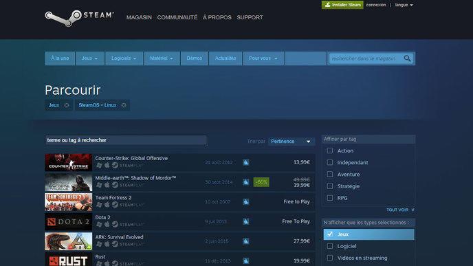 Steam : bientôt l'heure des soldes !