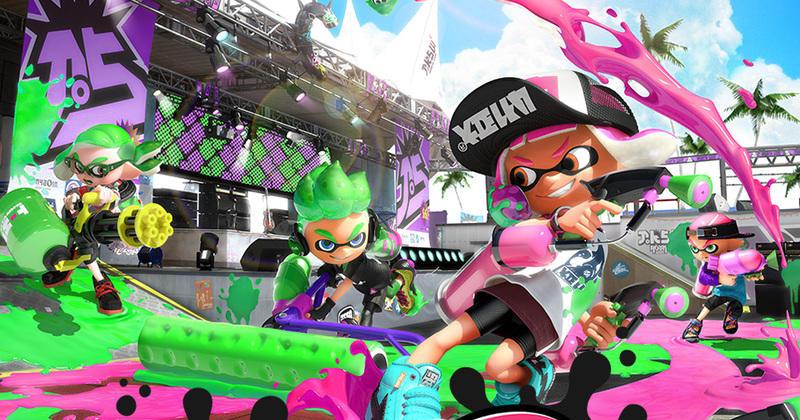 Nintendo Lance Des Accessoires Switch Aux Couleurs De Splatoon 2